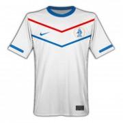 Jersey Nike De La Seleccion De Holanda De Visitante Blanca
