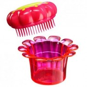 Tangle Teezer Flowerpot / Barnens favorit borste (Popping Purple)