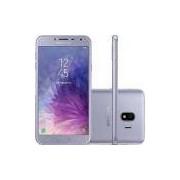 Smartphone Samsung Galaxy J4 Prata 32GB Câmera 13MP 4G SM-J400MZVSZTO