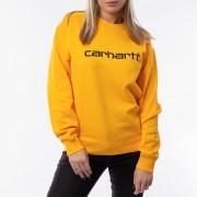 Carhartt WIP W' Sweatshirt I027475 SUNFLOWER/BLACK