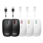 ASUS MOUSE UT300 Wired - optická drôtová myš; bielo-žltá