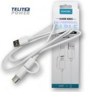 ROMOSS 2 u 1 Tip-C i Mikro USB kabl