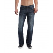 GUESS Rowland Relaxed Straight Leg Jean - Dark Wash dark wash 34