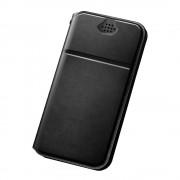 DUX DUCIS Minden univerzális tok telefontok hátlap Flip Cover 5,2-5,5 inch okostelefonok - M - fekete