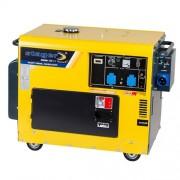 Generator curent monofazat Stager DG 5500S+ATS, 5 kW, diesel