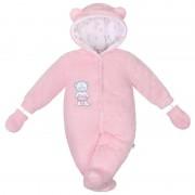 NEW BABY Zimní kombinézka New Baby Nice Bear růžová 36577
