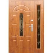 Drzwi stalowe z dostawką JAMAJKA