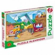 Puzzle constructii Alexander maxi 20 piese