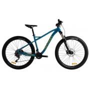 """Bicicleta Mountain Bike Devron ZERGA UNI 1.7, Roti 27.5"""", Frana hidraulica pe disc, Cadru L - 480mm (Albastru)"""