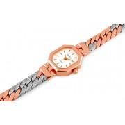 Exkluzivní zlaté dámské hodinky Rectangular form GENEVE IZ667