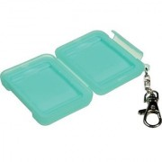 Ruggard Memory Card Case for 2 Compact Flash Cards (Light Green)