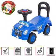 Baybee Push-On Baby Ride On Push Car for Toddlers Baby car Toy Children Rider & Kids Ride On Push Car-Baby Riders for Kids 1-3 Years ( Blue )