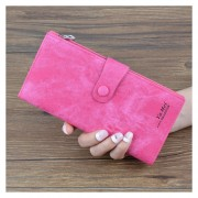 Cartera Mujeres/ Paquete Tarjeta Billetera Mujer Con-Rojo