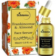 StBotanica Frankincense Almond Face Serum - 30 ml - For Acne Control Anti Aging