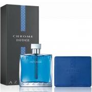 Azzaro Chrome Intense Комплект (EDT 100ml + Card Holder) за Мъже