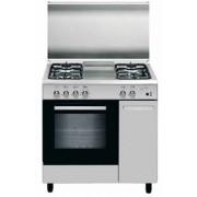 GLEM AS85MIF3 LINEA ALPHA CON STIPETTO cucina inox 80X50, forno elettrico statico classe A
