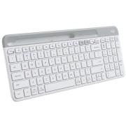 Logitech K580 Slim Multi-Device Wireless Keyboard (White)