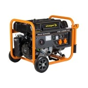 Stager - GG 7300W - Generator de uz general, 5.8 kW, Stager, UP190, 13 CP, pornire mecanica, benzina fara plumb, protectie suprasarcina, regulator tensiune AVR, voltmetru, monofazat