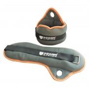 Power System Neoprenski utezi za ručne zglobove Wrist Weights 2x0,5kg PS-4043 grey/black