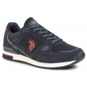 Сникърси U.S. POLO ASSN. - Wilde3 Suede FERRY4083W8/SM1 Dkbl/Red