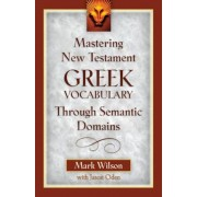 Mastering New Testament Greek Vocabulary Through Semantic Domains, Paperback