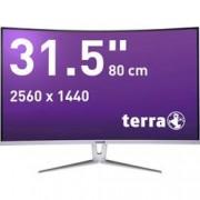 Terra LED monitor Terra LED 3280W, 80 cm (31.5 palec),2560 x 1440 px 5 ms, VA LED Audio-Line-in , DVI, DisplayPort, HDMI™