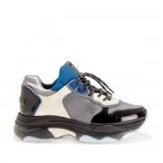 BRONX Sneakers BAISLEY mit Schnürung, breite Sohle