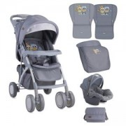Детска количка Lorelli Rio Set 2в1 - Сива, 10020641729