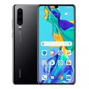 "Huawei P30 Smartphone 6.1"" FHD+, 40MP Leica Triple Camera, 128 GB / 6 GB, Desbloqueado Negro Turmalina"