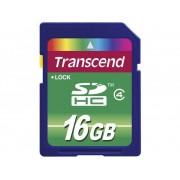 Transcend Standard SDHC-Kort 16 GB Class 4