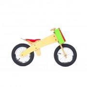 DipDap Luxury Wood Balance Bike Red