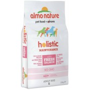 Almo Nature Holistic Cane Adult Large Salmone Riso Kg 12