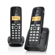 Siemens Gigaset A220 Duo Telefones Sem Fios Preto