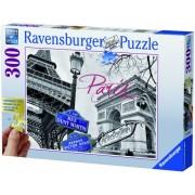 Puzzle Paris mon amour, 300 piese Ravensburger