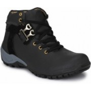 Real Blue Realblue_black_boot Boots For Men(Black)