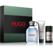 Hugo Boss Hugo Man lote de regalo ХІ eau de toilette 125 ml + gel de ducha 50 ml + deo barra 75 ml