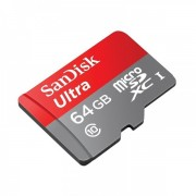 Memorija micro SD Sandisk 64GB Class 10 Ultra Android HD + SD Adapter 67616