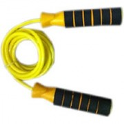 Instafit Super Deluxe Freestyle Skipping Rope (Yellow Pack of 1)