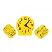 Ceasul didactic Set de 25 de ceasuri pentru clasa si indrumator