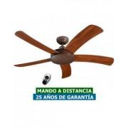 CasaFan Ventilador De Techo Casafan 9513273 Falcetto 132 Ba Nuez/ Marrón Antiguo
