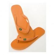 Geen Oranje strand slippers voor dames