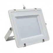 VTAC V-TAC PRO VT-206 Faro led 200W slim alluminio bianco chip Samsung SMD alta luminosità bianco freddo 6400K - SKU 788
