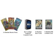 Cardfight Vanguard Beginners Bundle Pack Rares and RR cards and Booster Packs