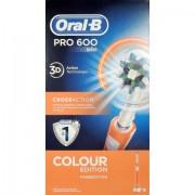 Procter & Gamble Srl Oral-B Pro 600 Crossaction Arancio