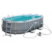 NOVI ovalni Steel oblik bazena Bestway424 x 250 x 100 cm