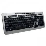 Мултимедийна клавиатура Delux K3100, жична, K3100U_VZ