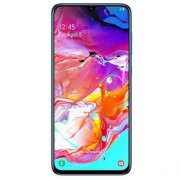Смартфон Samsung Galaxy A70 (SM-A705F) 2019, Dual SIM, 6.7 инча FHD+ (1080 x 2400), Android 9.0 (Pie), Li-Po 4500 mAh, USB Type-C, Син, SM-A705FZBUBGL