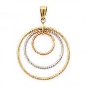 Trikolor arany medál három karikával