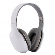 Foldable Over-ear Wireless Bluetooth Stereo Headphone Headset - White