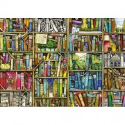 Ravensburger puzzle libraria bizara, 1000 piese